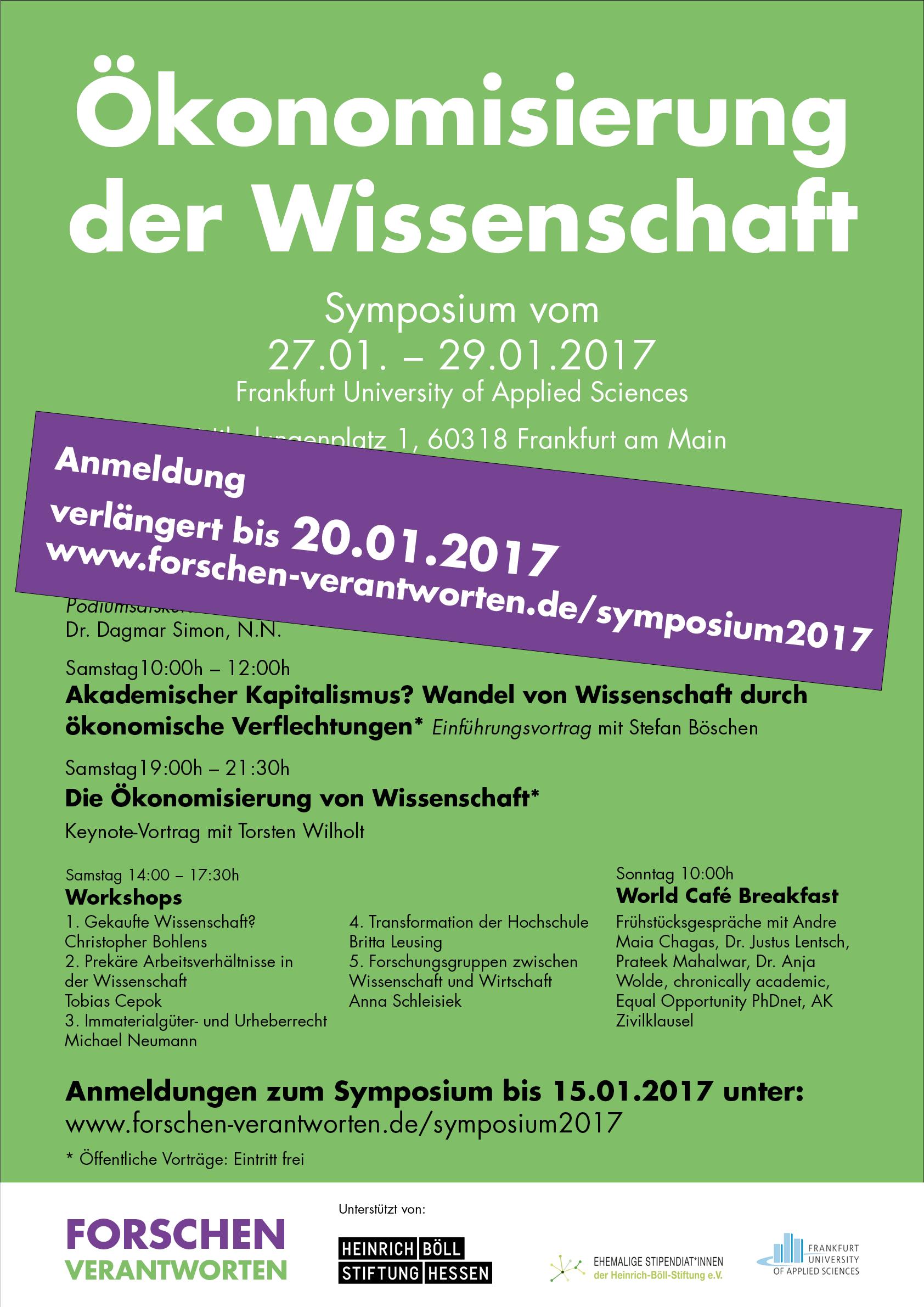 Plakat Symposium 2017